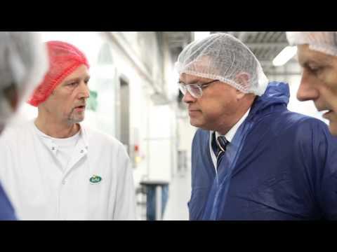 Арла Фудс открыла завод по производству лактозы стоимостью 120 млн. евро
