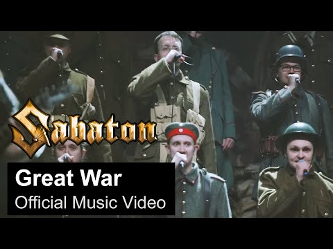SABATON - Great War (Official Music Video)
