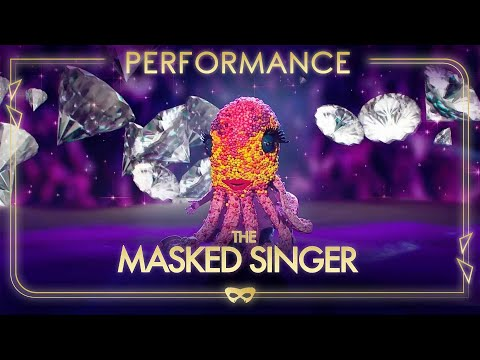 Octopus Performs 'Diamonds Are Forever' By Shirley Bassey   Season 1 Ep. 5   The Masked Singer UK