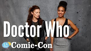 Pearl Mackie, Michelle Gomez from