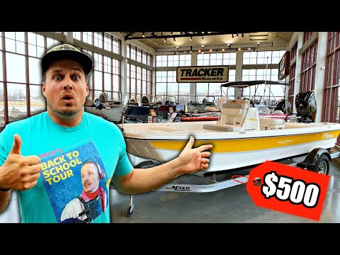 I Bought My DREAM Fishing Boat for $500?!?! (Bad Idea?)