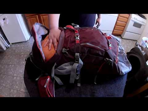 Mountaintop 70L+10L Internal Frame Backpack (видео)