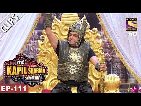Kapil Sharma As Bahubali - The Kapil Sharma Show - 3rd Jun, 2017