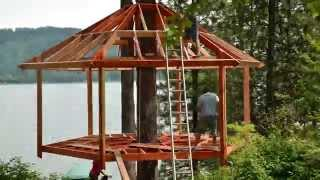 Treehouse Build Timelapse