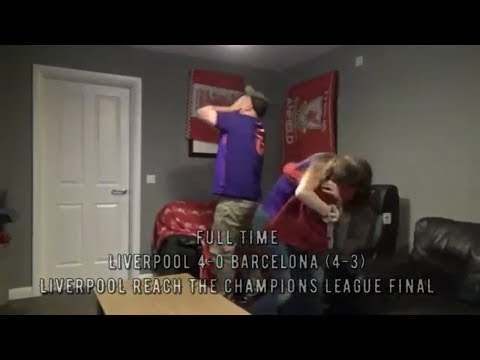 THIS IS ANFIELD | LIVERPOOL 4 - 0 BARCELONA | FANS REACTIONS