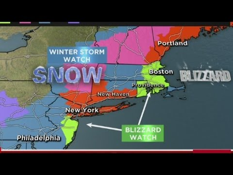 storm - New York City Mayor Bill de Blasio speaks about the severity of the upcoming winter weather.
