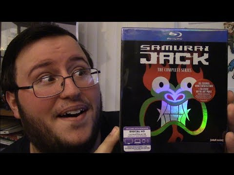 Samurai Jack: The Complete Series on Blu-Ray - Unboxing