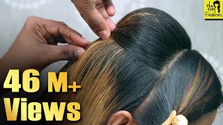 Video Beautiful Hairstyles for wedding/party || Simple Hairstyles || Wedding Guest hairstyles MP3, 3GP, MP4, WEBM, AVI, FLV Mei 2019