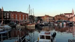 Izola Slovenia  city photos : Mini footage - Izola marina (Izola, Slovenia)
