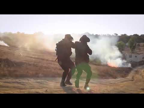 جانب من تدريبات قوة المهام الخاصة سهــــم التابعة لقوات التدخل وحفظ النظام