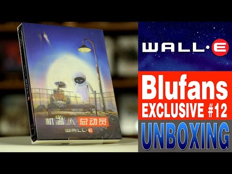 WALL-E - Blufans Exclusive #12 - Lenticular Slip Unboxing