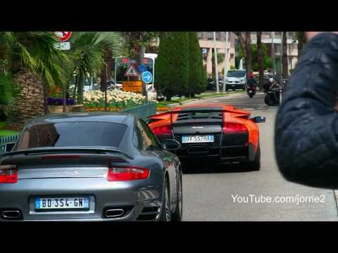 Supercars of Monaco on one day!! LP670 Enzo One-77 Veyron Agera R SLR – 1080p HD