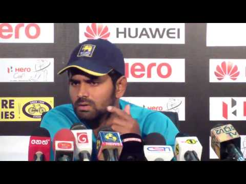 Sangakkara and Mathews talk about being on ICC Test Team of the Year 2014