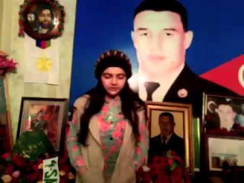 Mubariz Ibrahimovun ev muzeyi-Mubarizin ailesine mektubu
