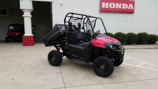 2. 2017 Honda Pioneer 700 Walk-Around + Start Up Video | Red | Review @ HondaProKevin.com