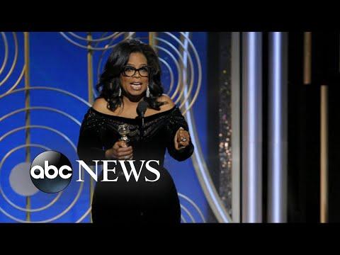 Oprah Winfrey, #TimesUp among Golden Globes' biggest moments