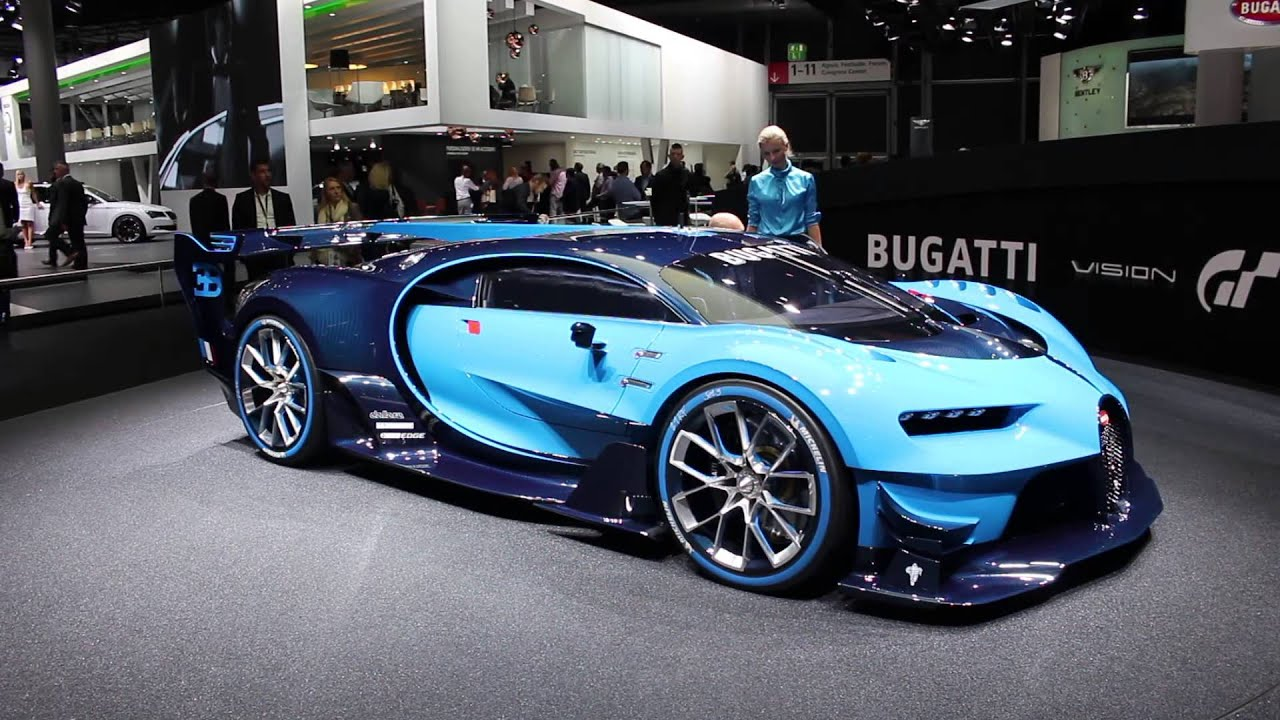 frankfurt 2015 bugatti vision gran turismo w video mega gallery. Black Bedroom Furniture Sets. Home Design Ideas