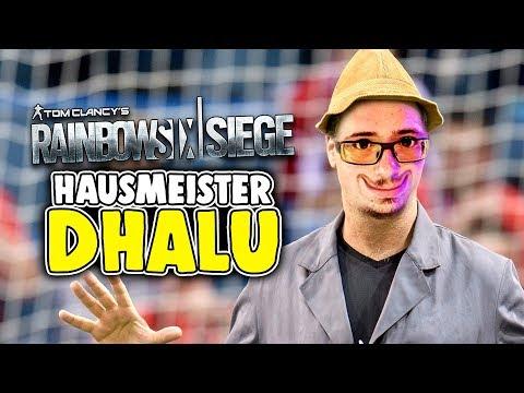 Rainbow Six Siege Deutsch - Hausmeister DHALU