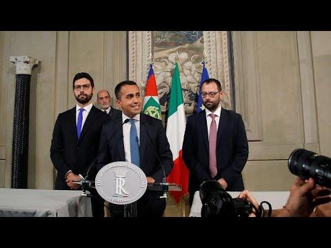 Ιταλία: Συμφωνία για κυβέρνηση συνασπισμού 5 Αστέρων – Σοσιαλδημοκρατών…