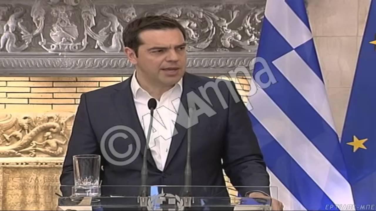 Αλ. Τσίπρας: Μεγάλη ντροπή η επίθεση των αρχών της ΠΓΔΜ κατά των προσφύγων στην Ειδομένη
