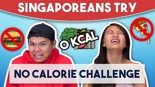 Video Singaporeans Try: 72 Hour No Calorie Challenge MP3, 3GP, MP4, WEBM, AVI, FLV Desember 2018
