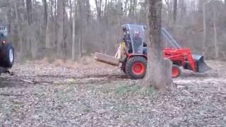 3. Kioti LB1914 vs. Toyota Echo and Jeep Wrangler (Tractor Pulling)