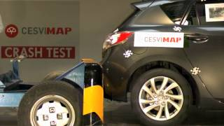 Crash Test trasero Mazda 3