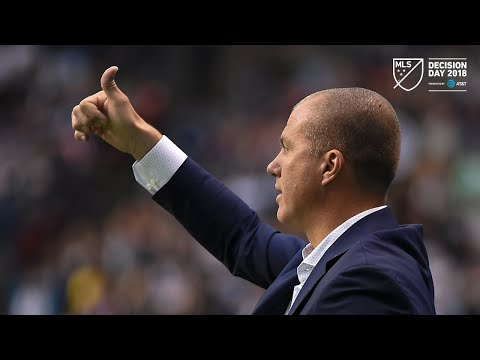 Video: Giovanni Savarese | Whitecaps 2, Timbers 1 | Postgame | Oct. 28, 2018