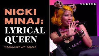 How Nicki Minaj Uses Google To Write Lyrics | Nicki Minaj: Lyrical Queen