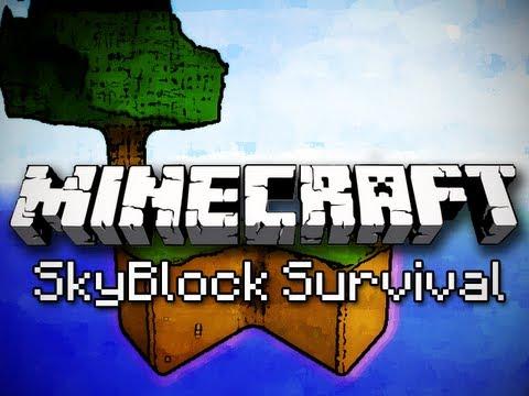 Minecraft: SkyBlock Survival Ep. 1 – Cobblestone Generator