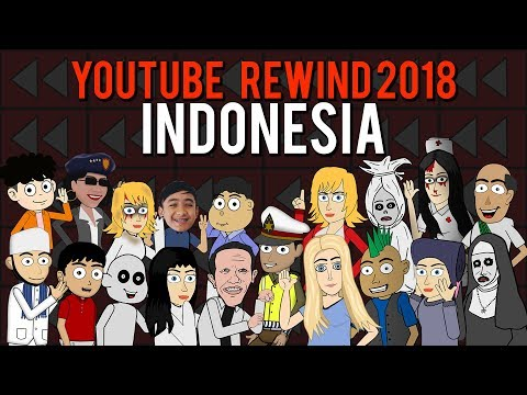 YouTube Rewind 2018 Indonesia Animasi | Warganet Life Official