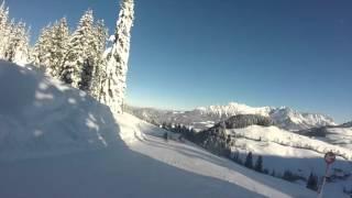 Hopfgarten Im Brixental Austria  City new picture : Skiing in Hopfgarten (SkiWelt), Austria. January 2016