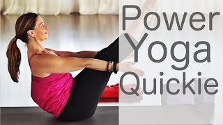 Video 15 Minute Power Yoga Quickie With Fightmaster Yoga MP3, 3GP, MP4, WEBM, AVI, FLV Maret 2018