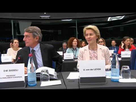Την έγκριση των ευρωβουλευτών θα ζητήσουν οι νέοι Επίτροποι…