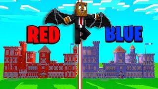 2VS2 *Wings & Tech Guns Mods* Castle Wars - Minecraft Modded Minigame   JeromeASF