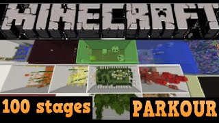 Minecraft maps - the series where Ashbini plays any maps ( NOT HORROR ) suggested by viewers or chosen by him. 100 stage - Parkour map made by X_Artic_fox_X ...