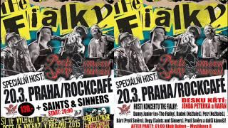 Video THE FIALKY 15let! - Radio pozvánka na 20.3. Rock Café!