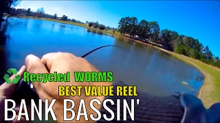 VENTURETUBE: Recycled WORMS, Best Value Reel, and some BASS!