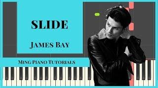 Slide - James Bay Piano Cover Tutorial (FREE midi and SHEETS) Ming Piano Tutorials