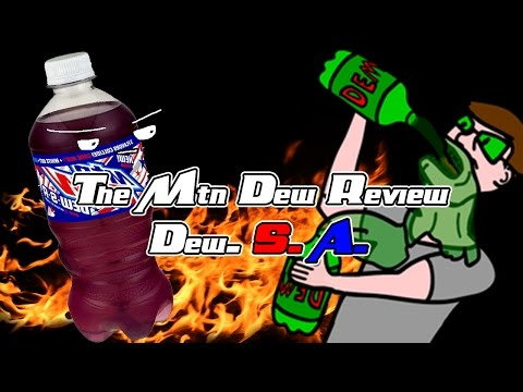 The Mountain Dew Review- Mtn Dew. S. A (видео)