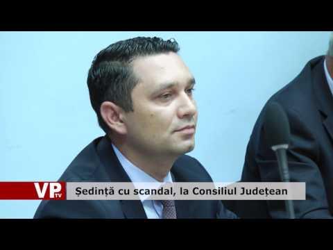 Ședință cu scandal, la Consiliul Județean