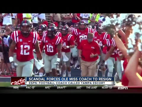 Ole Miss football coach resigns; allegedly called number associated with Tampa escort service