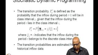 Mod-06 Lec-31 Stochastic Dynamic Programming For Reservoir Operation (1)
