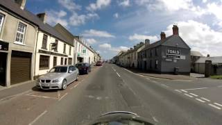 Some of the sights when out on a short run around the Ards Peninsula, County Down, Northern Ireland.  My trip takes you through Hillsborough, Carryduff, Scrabo Tower, Greyabbey, Kircubbin, Portaferry, Portavogie, Ballyhalbert, Ballywalter, Cloughey, Ballywhiskin, Millisle, Donaghadee.  This was filmed with a GoPro Hero, GoPro Session 4 & a Panasonic HC-VX870 4K camcorder,  Produced as 4K as the video not on-board the bike is in 4K.
