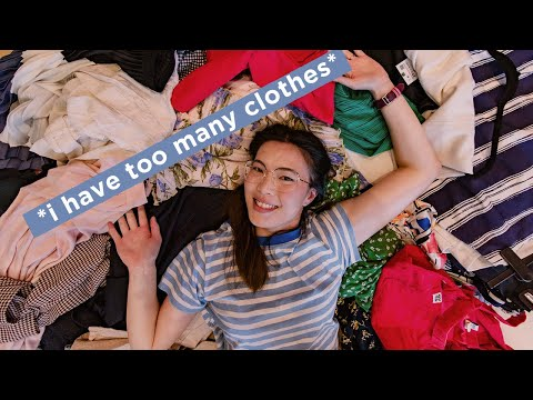 extreme closet clean out + analysing my wardrobe