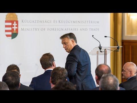 Orbán:Józan ésszel és bátorsággal kell képviselni az országot