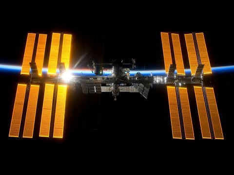 ISS International Space Station Live With 2 Cams And Tracking Data (NASA HDEV Earth From Space) - 82
