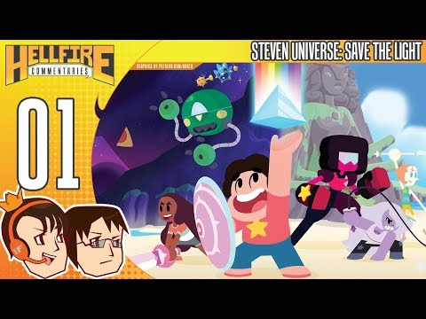 Steven Universe: Save the Light playthrough [Part 1: Gem Glow]