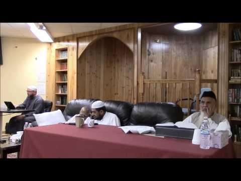 قراءة مسلم على ش ظهير الدين و عبد الرحمن المباركفوريين   من قوله :