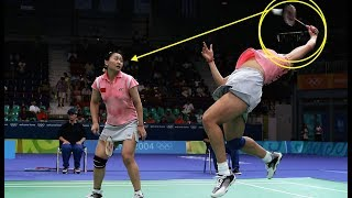 Download Video 【バドミントン】えっっ!?思わず笑ってしまうハプニングプレー【badminton】 MP3 3GP MP4